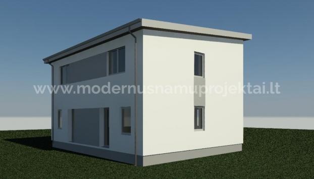 Namo projektas Dvibutis namas M039